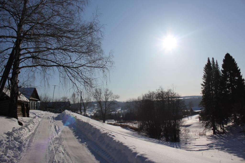 Въезд через Николая Васильевича